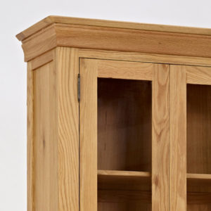 Norbury Oak Display Cabinet-1539