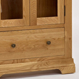 Norbury Oak Display Cabinet-1545