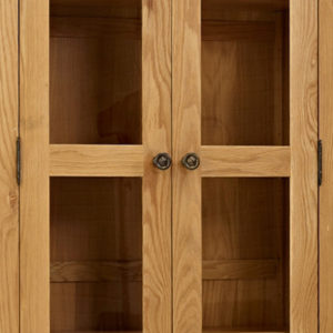 Norbury Oak Display Cabinet-1538