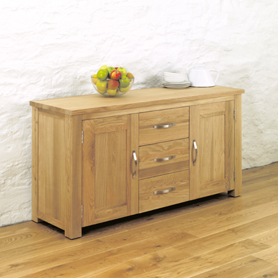 Aston Oak Large Sideboard-9504