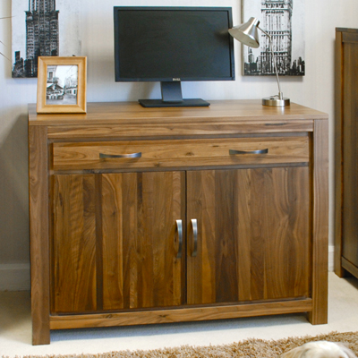 solid walnut hidden home office. Mayan Solid Walnut Hidden Home Office