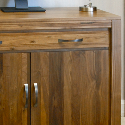 solid walnut hidden home office. Mayan Solid Walnut Hidden Home Office N