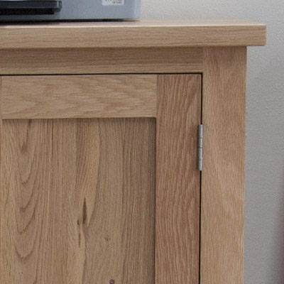 Attrayant Opal Solid Oak Printer Cabinet