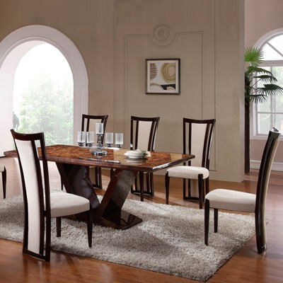 Leon Marble 6 Seater Dining Set 14250