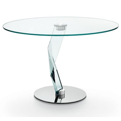 Bakkarat alto 120cm round glass dining table for 110cm round glass dining table
