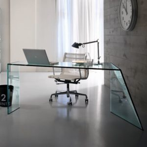 nervi glass office desk. penrose glass desk23315 nervi office desk