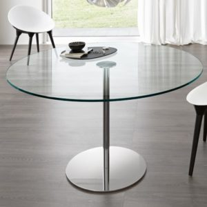 110cm Round Glass Dining Table Of Glass Dining Tables Page 2 Of 8 Robson Furniture