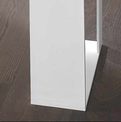 f6b25855f19 Miles White 280cm Glass Dining Table - Robson Furniture