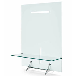 Curtain Wall Glass Large TV Stand-21918