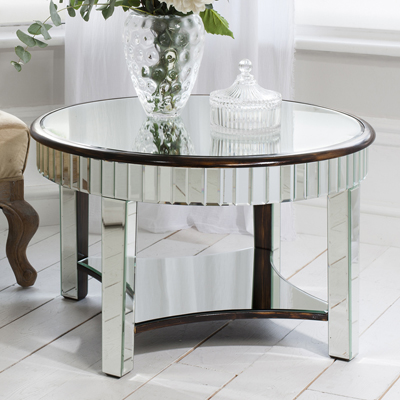 Ripley Mirror Round Coffee Table
