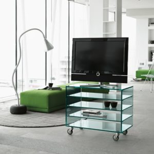 Grattacielo Glass Shelving Unit Combination 4-22237
