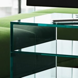 Grattacielo Glass Shelving Unit Combination 4-22231