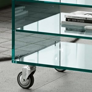 Grattacielo Glass Shelving Unit Combination 4-22234