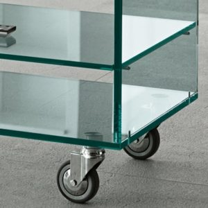 Grattacielo Glass Shelving Unit Combination 4-22236