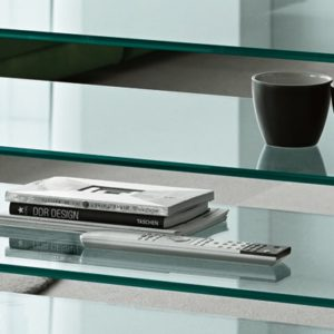 Grattacielo Glass Shelving Unit Combination 4-22233