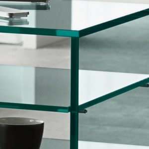 Grattacielo Glass Shelving Unit Combination 4-22232