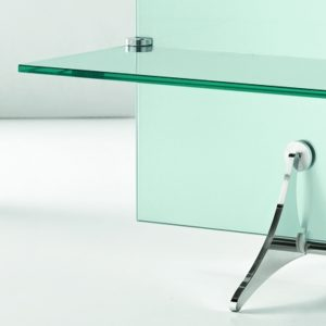 Curtain Wall Glass TV Stand-21911