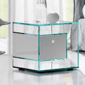 Glass Bedside Cabinets Robson Furniture