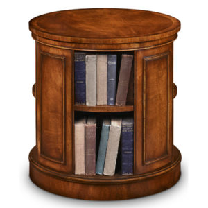 Revolving End Table Bookcase Mahogany AMC235-19104