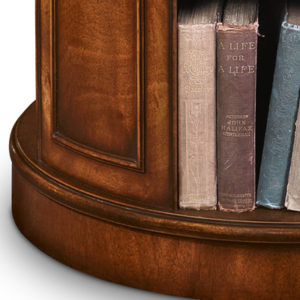 Revolving End Table Bookcase Mahogany AMC235-19100