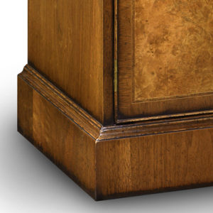 Breakfront TV Cabinet with Shallow Front Storage Burr Walnut AMC274-18798