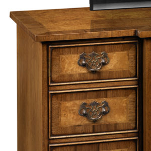 Breakfront TV Cabinet Burr Walnut AMC284-18837