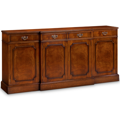 Breakfront Sideboard with Reeded Edge Mahogany AMC49-18256
