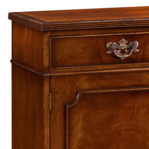 Breakfront Sideboard with Reeded Edge Mahogany AMC49-18255