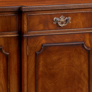 Breakfront Sideboard with Reeded Edge Mahogany AMC49-18252