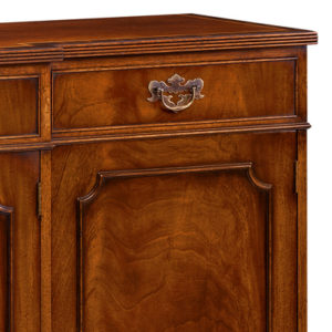 Breakfront Sideboard with Reeded Edge Mahogany AMC49-18254