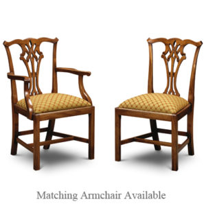 Country Chippendale Side Chair Mahogany CC01-19210