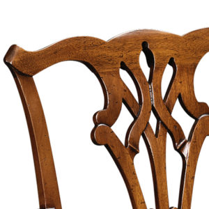 Country Chippendale Armchair Mahogany CC02-19162