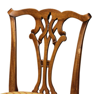 Country Chippendale Side Chair Mahogany CC01-19207