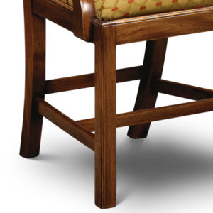 Country Chippendale Armchair Mahogany CC02-19165