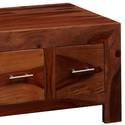 charan indian 8 drawer coffee table - robson furniture