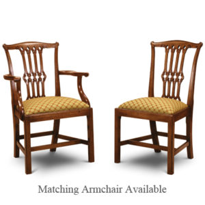 Gothic Chippendale Side Chair Mahogany GC01-19215
