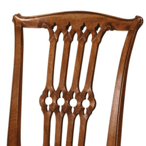 Gothic Chippendale Side Chair Mahogany GC01-19212