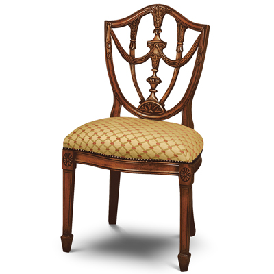 Georgian Urn Back Side Chair Mahogany GU01-19217