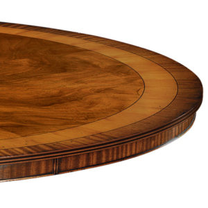 Circular Dining Table Mahogany W150-18525