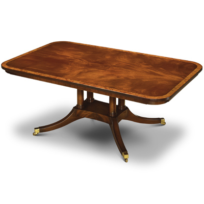 Coffee Table with Cluster Base Mahogany W184-18059