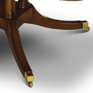 Coffee Table with Cluster Base Mahogany W184-18062