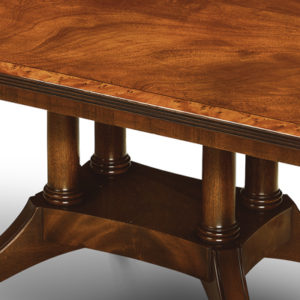 Coffee Table with Cluster Base Mahogany W184-18058