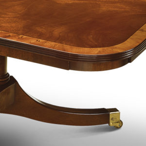 Coffee Table with Cluster Base Mahogany W184-18065
