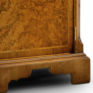 Breakfront Credenza Sideboard with Canted Sides Walnut W195-18281