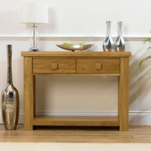 mobel solid oak console. Belgravia Oak Console Table With Drawers-20288 Mobel Solid .