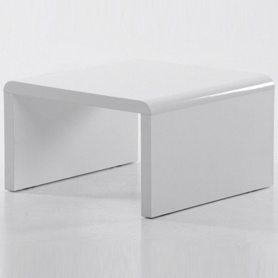 Cuban high gloss white lamp table robson furniture cuban high gloss white lamp table aloadofball Gallery