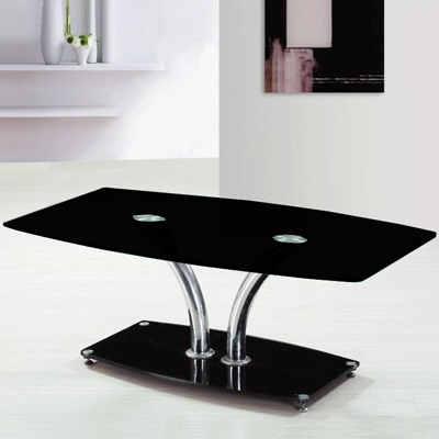 Dylan Black Glass Coffee Table 20424