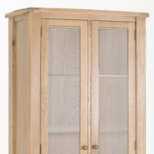 Brents Oak Display Cabinet-21381