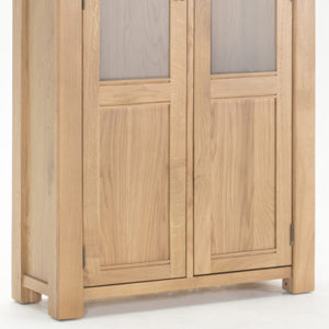 Brents Oak Display Cabinet-21380