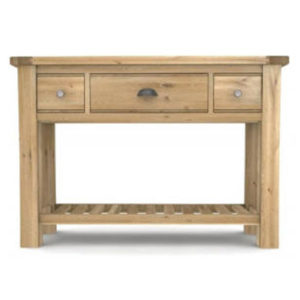 mobel solid oak console hall brents oak console table21399 robson furniture solid oak console tables